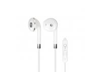 Handsfree Casti In-Ear Forever SE-410, Cu microfon, 3.5 mm, Alb, Blister