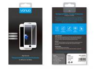 Folie Protectie Ecran Vonuo pentru Apple iPhone 6 Plus / Apple iPhone 6s Plus, Sticla securizata, Full Face, 5D, Alba, Blister VO-090501010