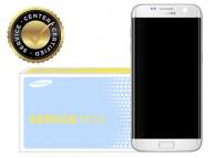 Display - Touchscreen Alb, Cu Rama Si Acumulator Samsung Galaxy S7 edge G935 GH82-13364A