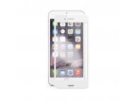 Folie Protectie Ecran Soultech pentru Apple iPhone 7 Plus / Apple iPhone 8 Plus, Sticla securizata, Full Face, Platinum EK803B, Alba, Blister