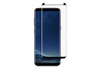 Folie Protectie Ecran Soultech pentru Samsung Galaxy S8 G950, Sticla securizata, Full Face, Platinum EK805S, Neagra, Blister