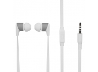 Handsfree Casti In-Ear Soultech Sugar, KK003B, Cu microfon, 3.5 mm, Alb, Blister