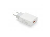 Incarcator Retea USB OEM, 1 X USB, 2.1A, Alb, Bulk