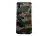 Husa Plastic Burga Tropical Green Camo Apple iPhone X, Blister iPX_SP_ML_03
