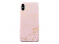Husa Plastic Burga Peachy Gold Marble Apple iPhone X, Blister iPX_SP_MB_05
