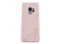 Husa Plastic Burga Peachy Gold Marble Samsung Galaxy S9 G960, Blister S9_SP_MB_05