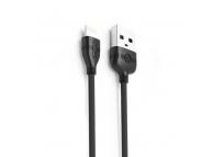 Cablu Date si Incarcare USB la Lightning Proda PD-B05i, 1.2 m, Negru, Blister