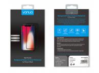 Folie Protectie Ecran Vonuo pentru Apple iPhone X, Sticla securizata, Full Face, Neagra, Blister VO-090501014
