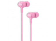 Handsfree Casti In-Ear XO Design XO-S-6, Cu microfon, 3.5 mm, Roz, Blister