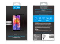 Folie Protectie Ecran Vonuo pentru Huawei P20, Sticla securizata, Full Face, Neagra, Blister