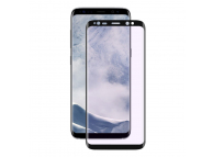 Folie Protectie Ecran Enkay pentru Samsung Galaxy S8 G950, Sticla securizata, Full Face, Anti Blue-ray, Neagra, Blister