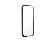 Husa TPU DEVIA Hybrid pentru Apple iPhone 7 / Apple iPhone 8, Neagra - Transparenta, Blister