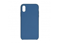 Husa  Forcell Silicone pentru Samsung Galaxy S9 G960, Bleumarin, Bulk