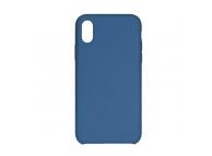 Husa Forcell Silicone pentru Samsung Galaxy S9+ G965, Bleumarin, Bulk