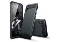 Husa Plastic ESR Rambler pentru Apple iPhone X, Neagra, Blister