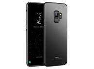 Husa Plastic MSVII Slim pentru Samsung Galaxy S9 G960, Neagra, Blister