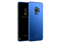 Husa Plastic MSVII Slim pentru Samsung Galaxy S9 G960, Albastra, Blister