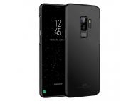 Husa Plastic MSVII Slim pentru Samsung Galaxy S9+ G965, Neagra, Blister