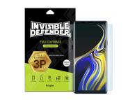 Folie Protectie Ecran Ringke pentru Samsung Galaxy Note9 N960, Plastic, Full Face, Set 3 buc, Blister