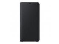 Husa Samsung Galaxy A7 (2018), Flip Wallet, Neagra, Blister EF-WA750PBEGWW
