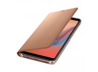 Husa Samsung Galaxy A7 (2018), Flip Wallet, Aurie, Blister EF-WA750PFEGWW