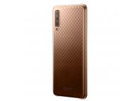 Husa Plastic Samsung Galaxy A7 (2018), Gradation Cover, Aurie, Blister EF-AA750CFEGWW