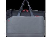 Geanta textil laptop 13.3 inci Emtec Traveler M G100, Neagra-Kaki