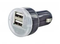 Incarcator Auto USB Reekin, 2 X USB, Negru, Blister