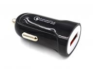 Incarcator Auto USB OEM Superfast 2.4A, 1 X USB, Negru, Bulk