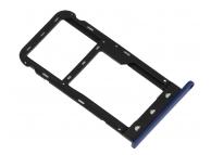 Suport Card - Suport SIM Albastru Huawei P9 lite mini