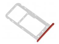 Suport Card - Suport SIM Rosu Huawei P9 lite mini