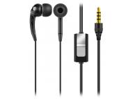 Handsfree Casti In-Ear Global Technology, Cu microfon, 3.5 mm, Negru, Blister