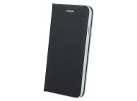 Husa Piele OEM Smart Venus pentru Samsung Galaxy S7 G930, Neagra, Bulk