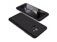 Husa Plastic OEM Full cover pentru Samsung Galaxy A6 (2018) A600, Neagra, Bulk