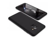 Husa Plastic OEM Full cover pentru Samsung Galaxy A6+ (2018) A605, Neagra, Bulk