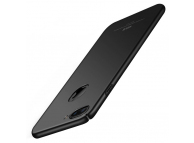 Husa Plastic MSVII Slim pentru Apple iPhone 7 Plus / Apple iPhone 8 Plus, Neagra, Blister