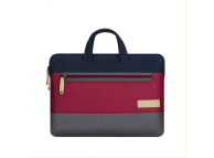 Geanta textil laptop 13 inci Cartinoe Preppy, Rosie