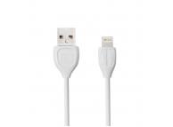 Cablu Date si Incarcare USB la Lightning Remax RC-050I, 1 m, Alb, Blister