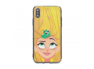 Husa TPU Disney Rapunzel Pentru Apple iPhone 7 / Apple iPhone 8, Multicolor, Blister