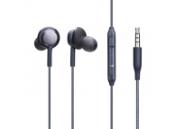 Handsfree Casti In-Ear OEM Stereo Perfect, Cu microfon, 3.5 mm, Negru, Blister