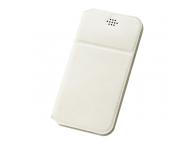 Husa Piele DUX DUCIS Every pentru Telefon 4.7 inci - 5 inci, dimensiuni interioare 144 x 75 mm, Alba, Blister