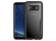 Husa Plastic iPaky Atisoc pentru Samsung Galaxy S8 G950, Neagra, Blister