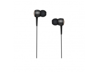 Handsfree Casti In-Ear HOCO Drumbeat M19, Cu microfon, 3.5 mm, Negru, Blister