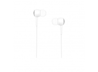 Handsfree Casti In-Ear HOCO Drumbeat M19, Cu microfon, 3.5 mm, Alb, Blister