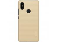 Husa Plastic Nillkin Frosted pentru Xiaomi Mi 8 SE, Aurie, Blister