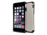 Husa TPU Itskins Evolution Antisoc pentru Apple iPhone 6s, Aurie - Neagra, Blister AP6S-EVLT-GDBK