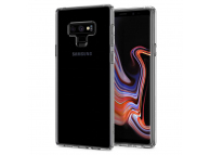 Husa TPU Spigen Liquid Crystal pentru Samsung Galaxy Note9 N960, Neagra, Blister 599CS24569
