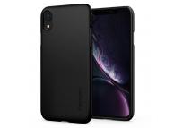 Husa TPU Spigen Thin Fit pentru Apple iPhone XR, Neagra, Blister 064CS24864