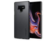 Husa TPU Spigen Thin Fit pentru Samsung Galaxy Note9 N960, Gri, Blister 599CS24567