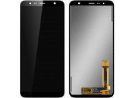 Display - Touchscreen Negru Samsung J4 Plus (2018) J415 / Samsung J6 Plus (2018) J610 GH97-22582A